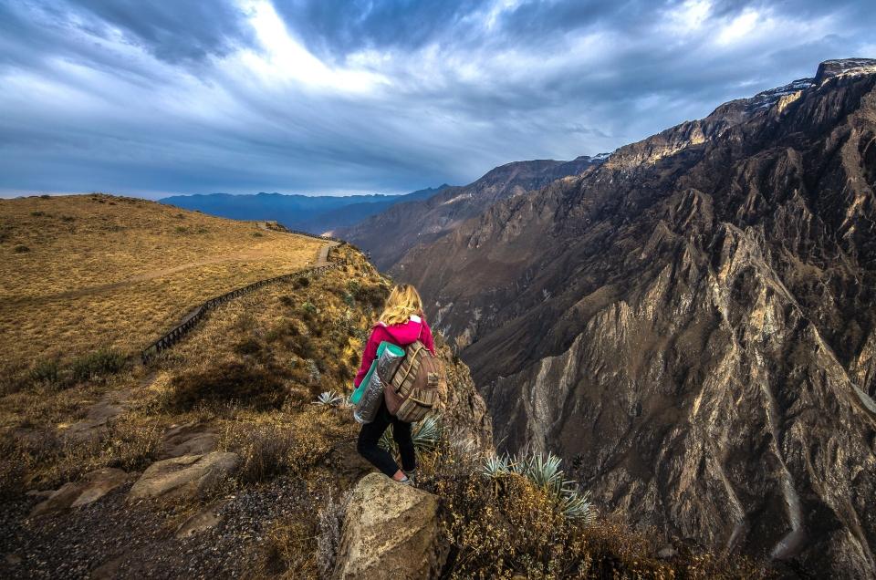 Hike the Colca Canyon