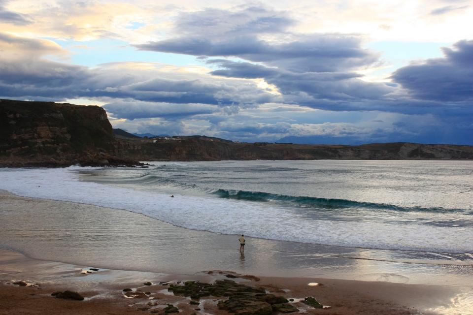 Playa de los Locos, Suances, Cantabria
