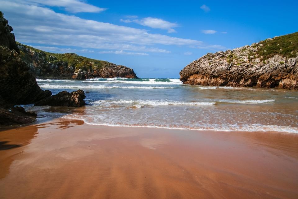 Playa de Poo, Llanes, Asturias