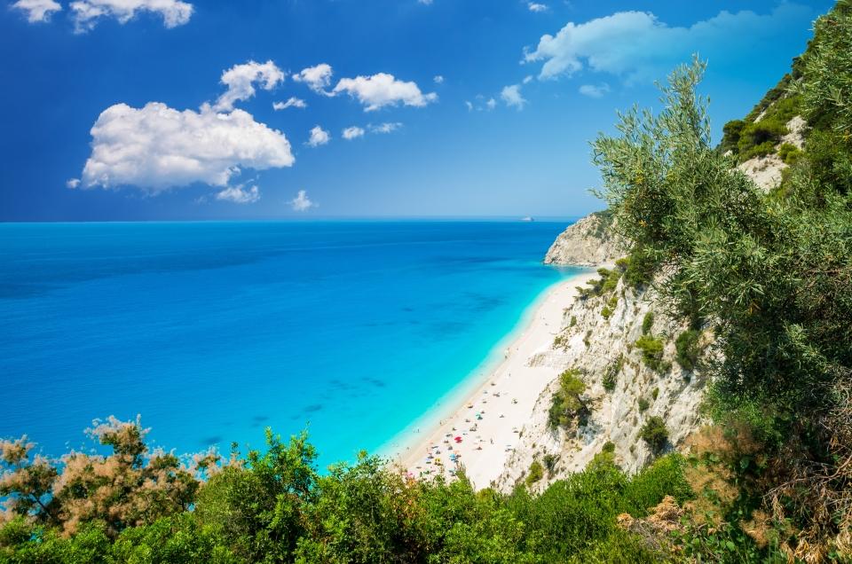 Egremni, Griechenland