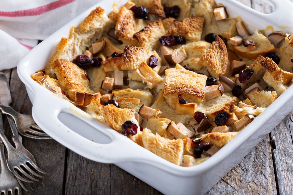 Bread and Butter Pudding - UK