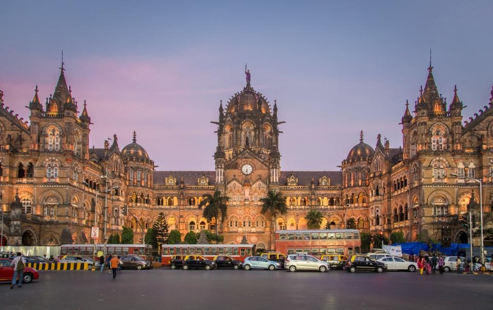 2. Chhatrapati Shivaji Terminus, Mumbai, India