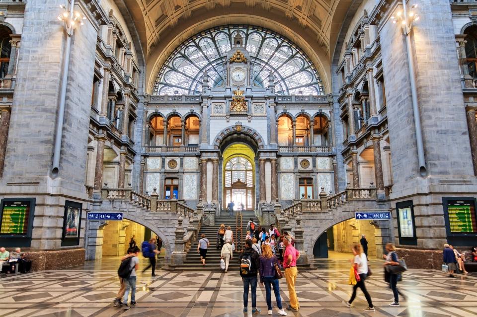 3. Antwerpen-Centraal, Antwerp, Belgium