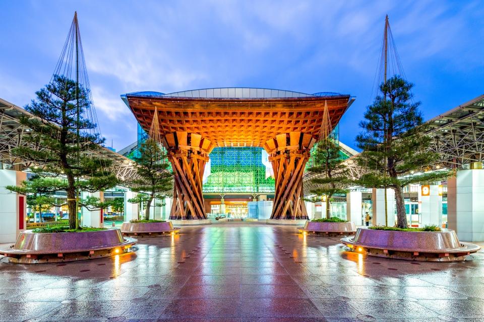 4. Kanazawa Station, Kanazawa, Japan