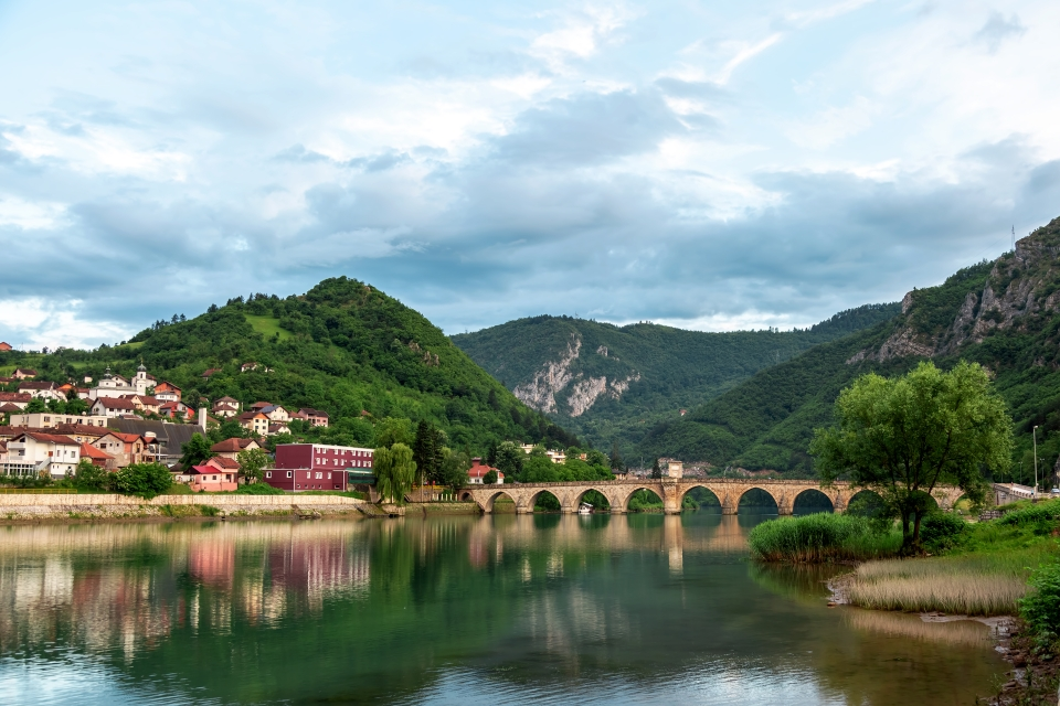 Il fiume Drina