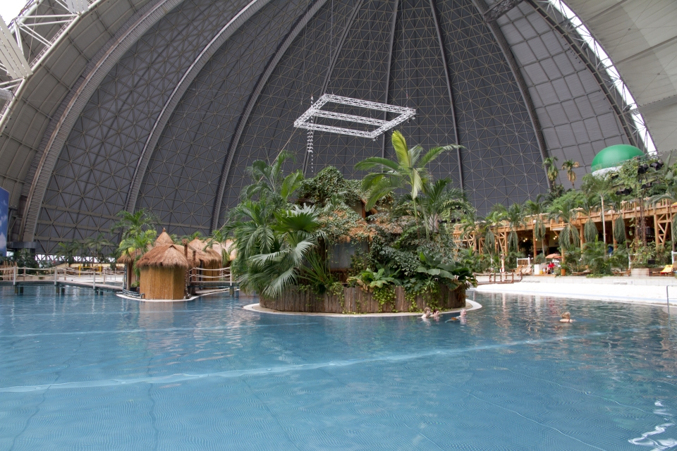 3. Tropical Islands' Resort, Brandenburg, Germany