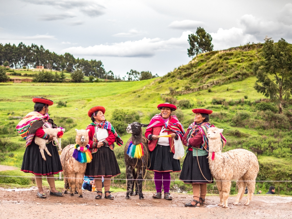 1. Cusco Region, Peru