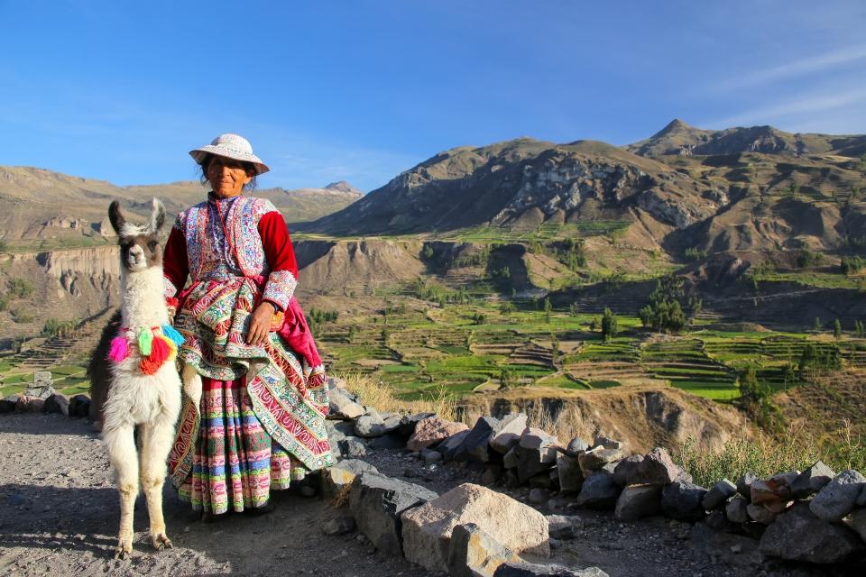 2. Colca Canyon, Peru