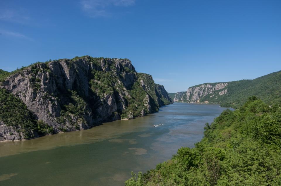 Les Portes de Fer, le plus grand défilé fluvial d'Europe