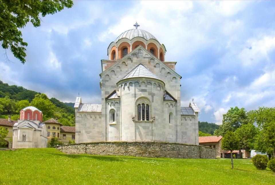 Le monastère orthodoxe de Studenica, classé à l'Unesco