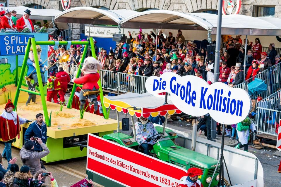 Le célèbre carnaval de Cologne
