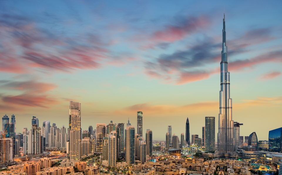 1. Burj Khalifa, Dubái