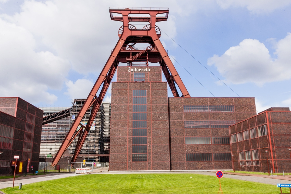 Puits de la mine de Zollverein