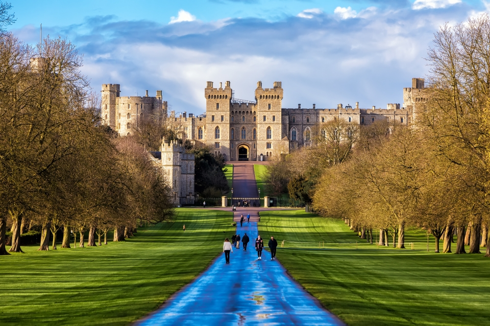 3. Windsor Castle, United Kingdom