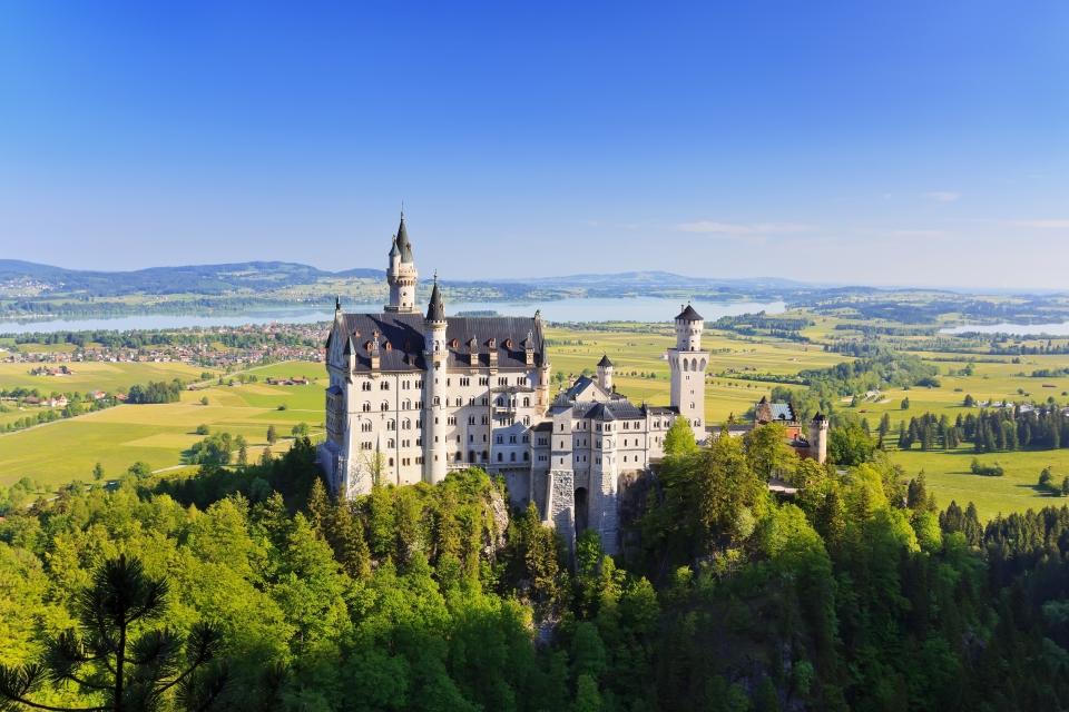 5. Neuschwanstein Castle, Germany