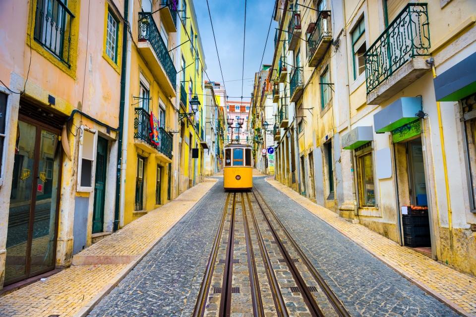 Lisbonne, avec vue sur le Tage