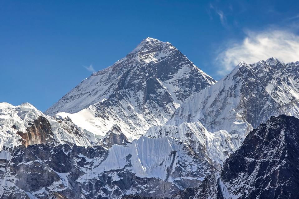 Le plus haut sommet du monde : l'Everest