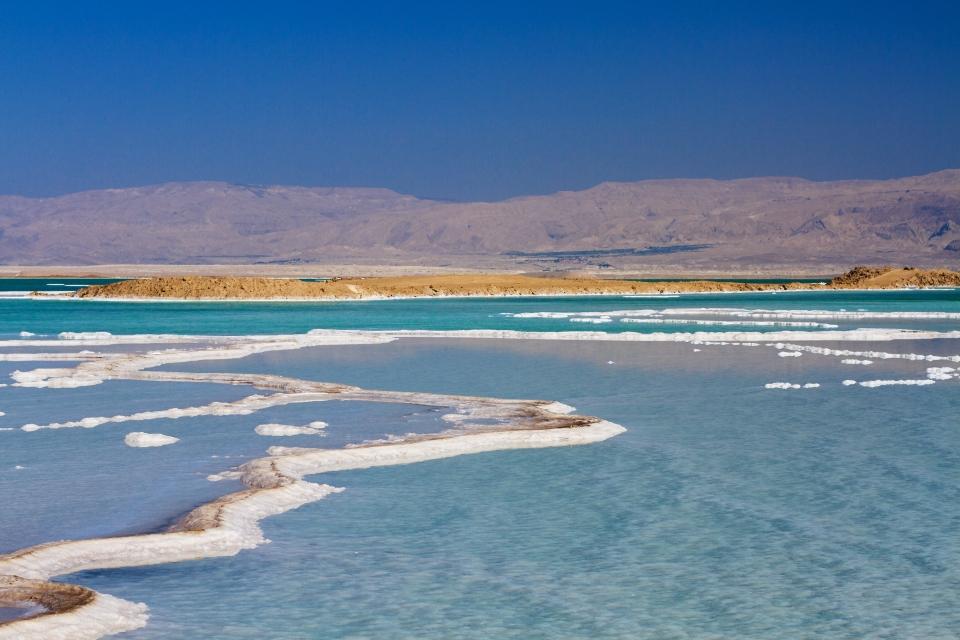 Le point émergé le plus bas du monde : la Mer Morte