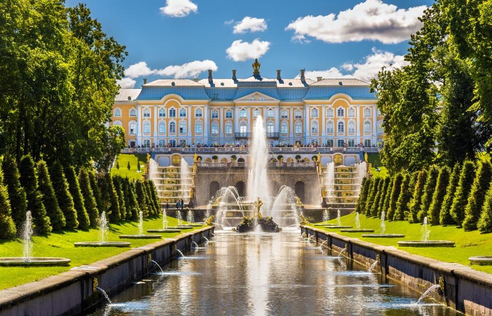Reggia di Peterhof, Russia