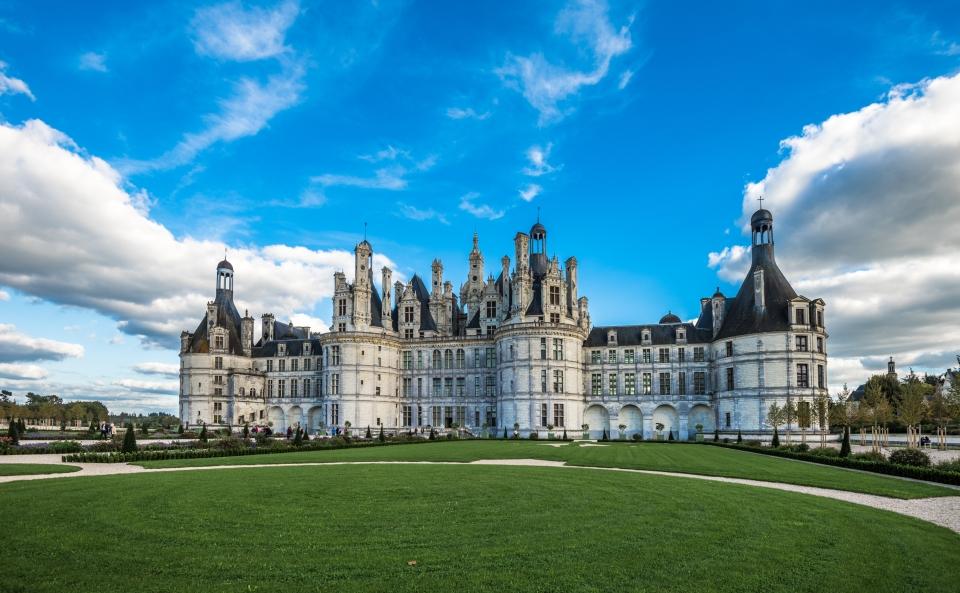 Chateau di Chambord, Francia