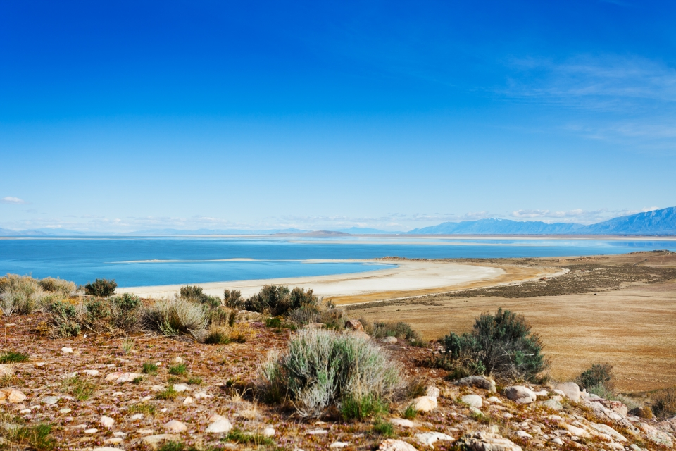 The Great Salt Lake, USA