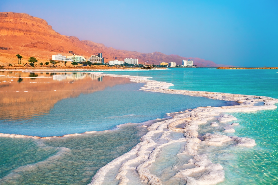 The Dead Sea, Jordan and Israel