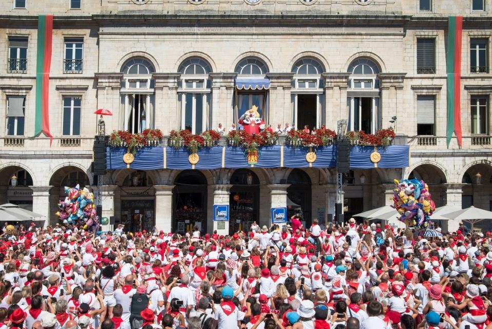 The Bayonne Festival or Fêtes de Bayonne
