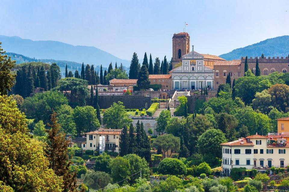 Die Basilika San Miniato al Monte