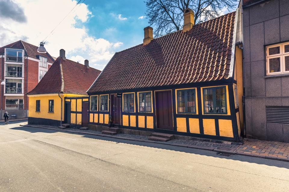 The childhood home