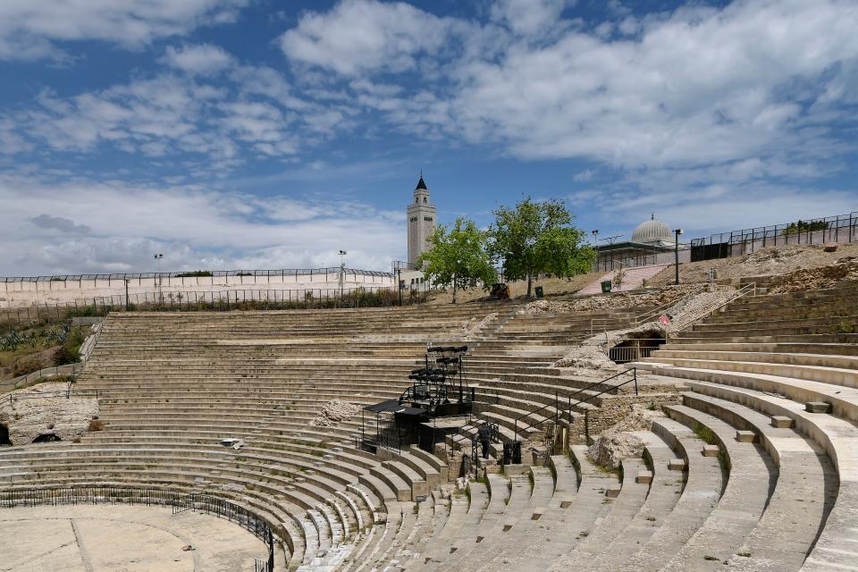 Le théâtre où s'exprima Winston Churchill le 1er juin 1943