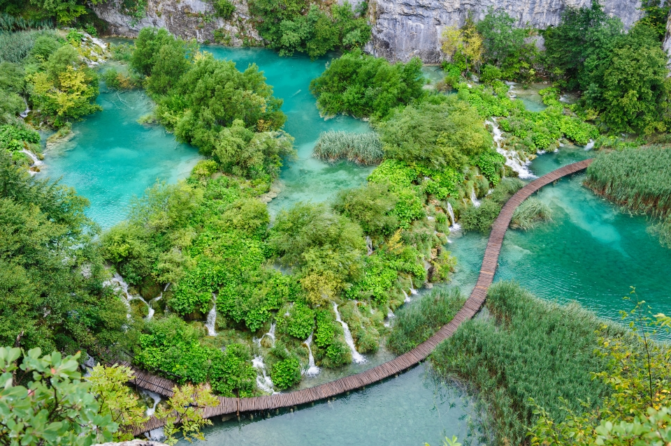 Parc National de Plitvice en Croatie