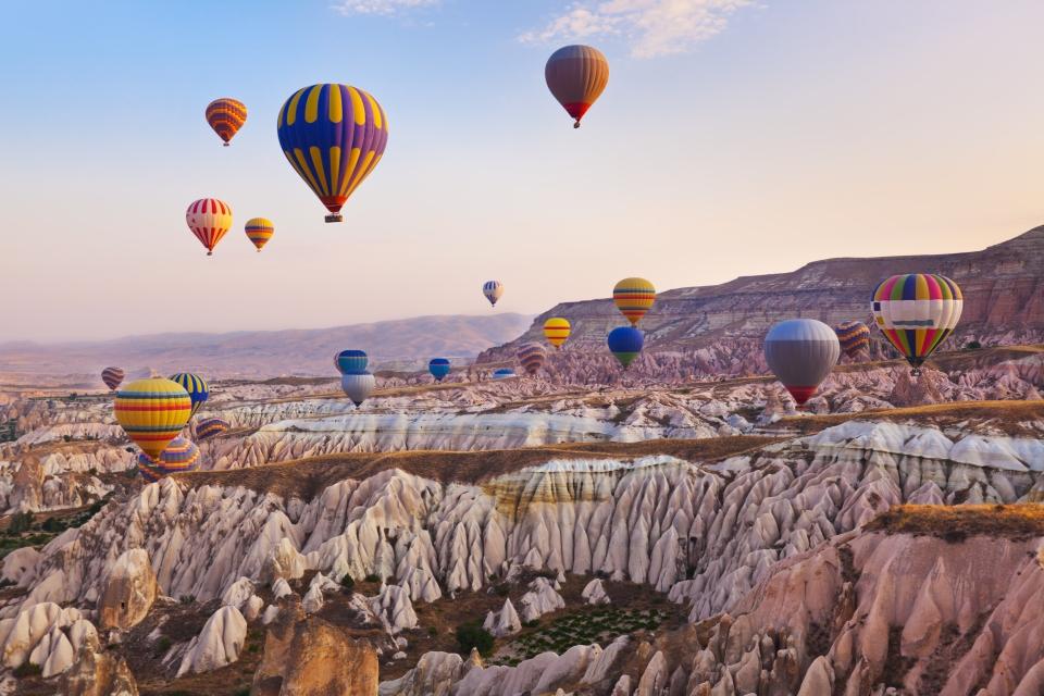 Parc national de Göreme et Cappadoce en Turquie