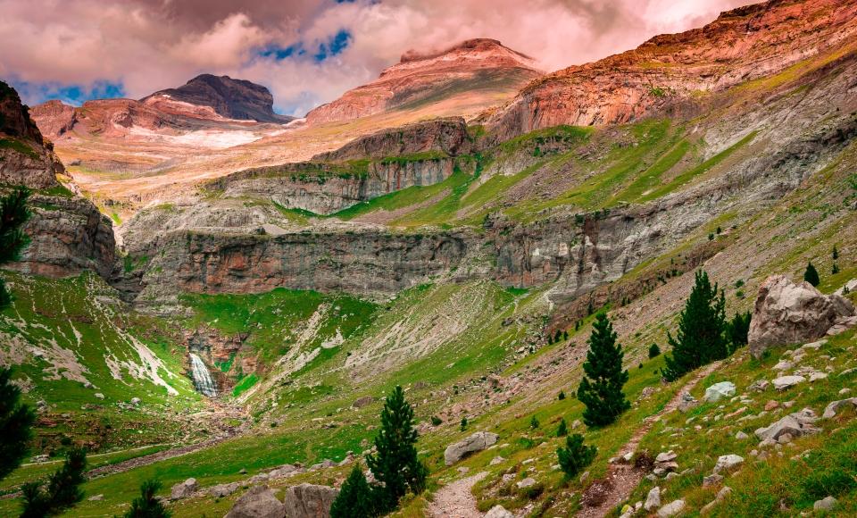 Parc national d'Ordesa et du Mont-Perdu en Espagne