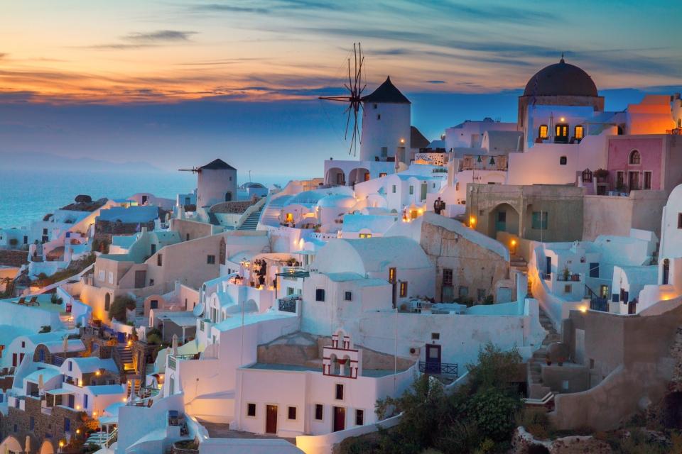 17. Santorini, Griechenland