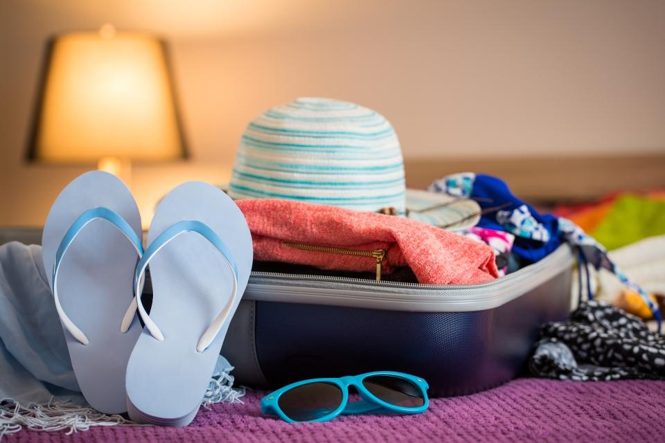 Des compartiments organisateurs de valise