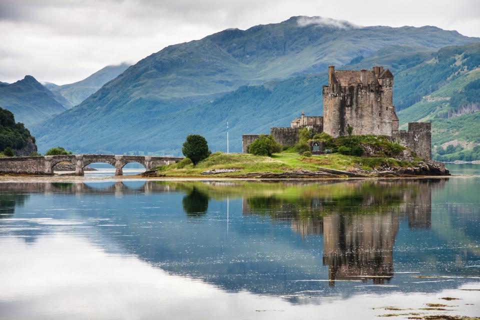 Entspannen Sie sich in den schottischen Highlands