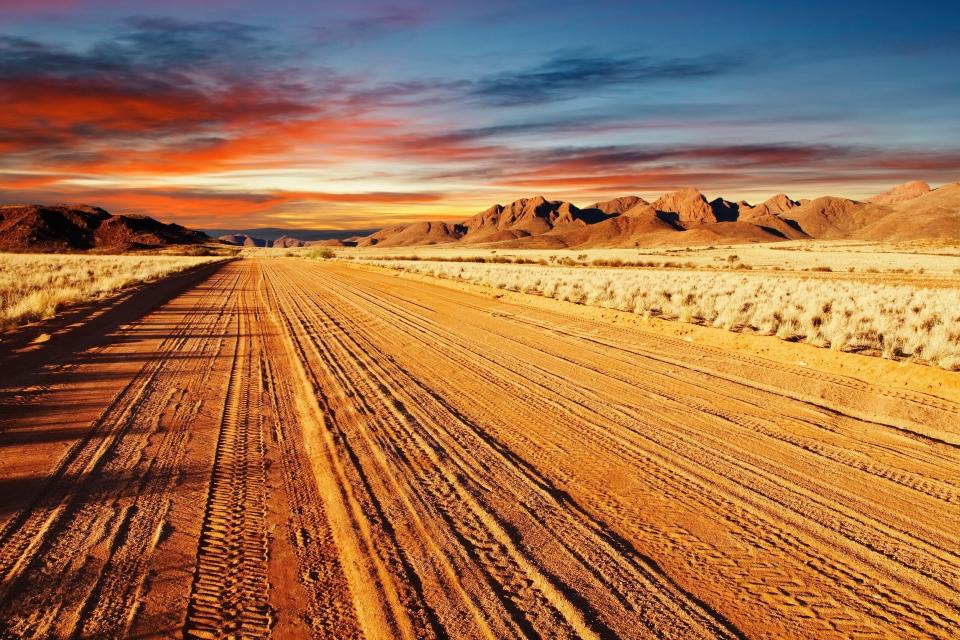 The Kalahari Desert, Botswana, Namibia and South Africa