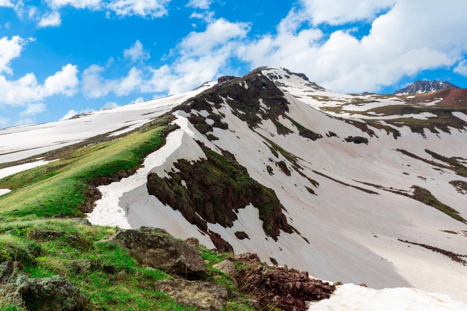 Der Berg Aragats