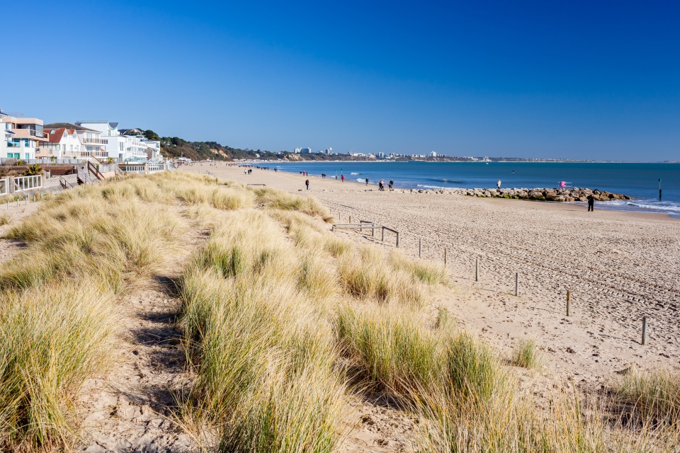 Sandbanks Beach, Poole, UK