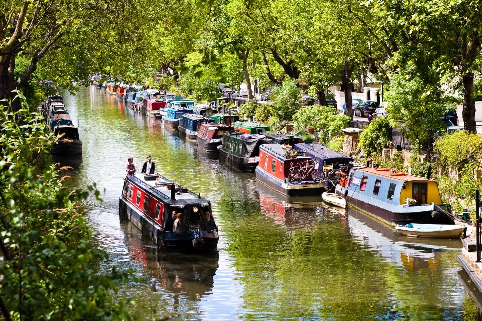 Little Venice, London, England