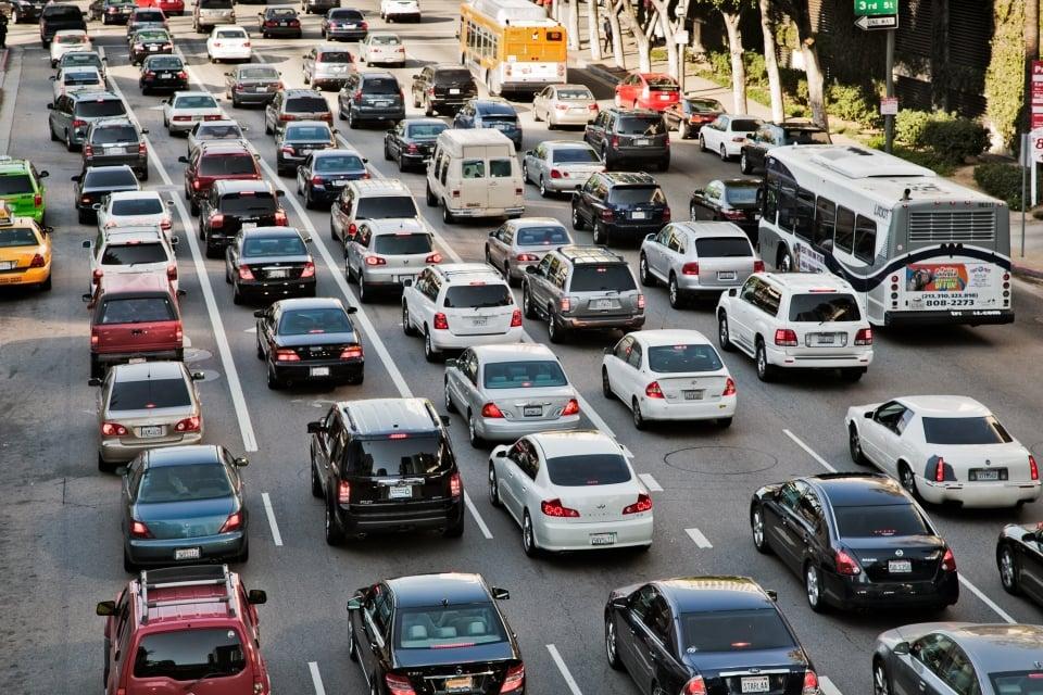 L.A : capitale des voitures et embouteillages !