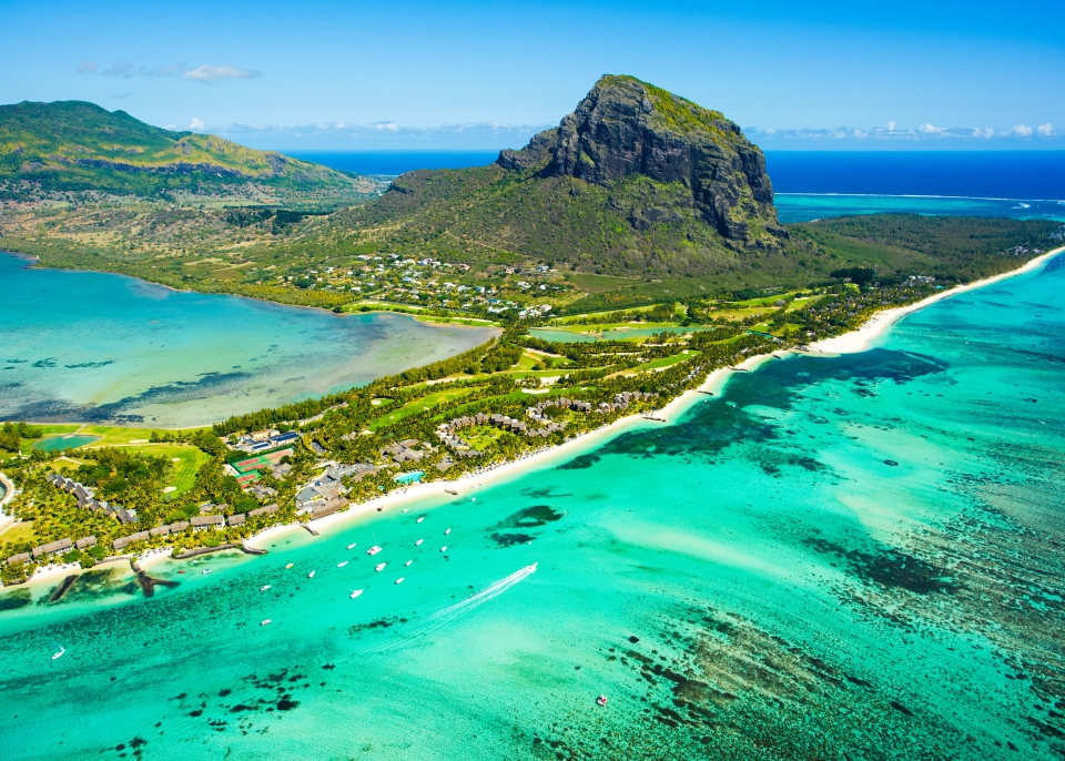 Belle-Mare Lagune, Mauritius