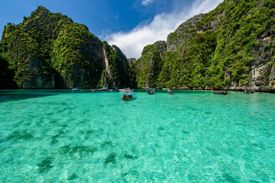 Die Lagune von Koh Phi Phi, Thailand