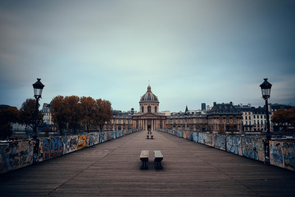 La eternidad de los puentes de París