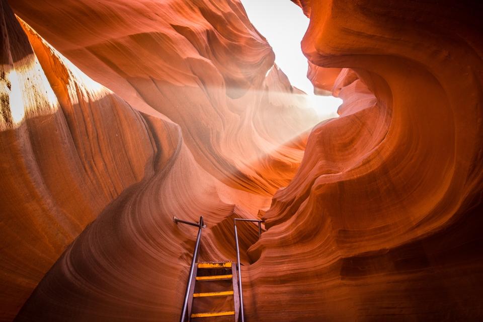 El cañón de Antelope, Estados Unidos