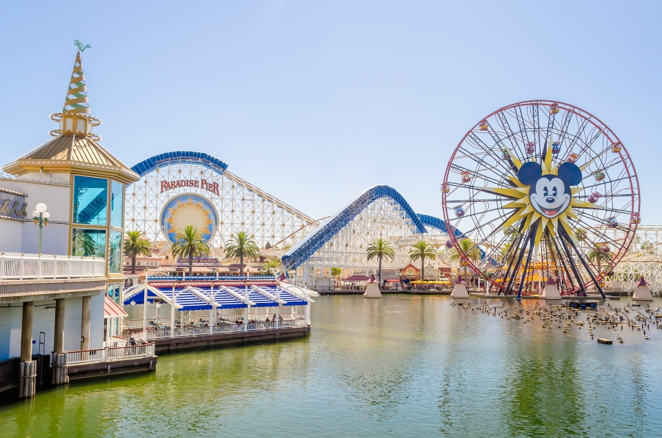 Disneyland en Anheim, California.