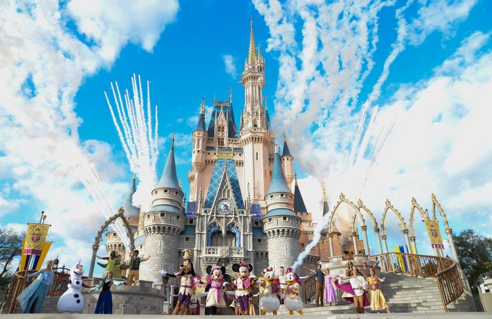 Disney World en Orlando, Florida.