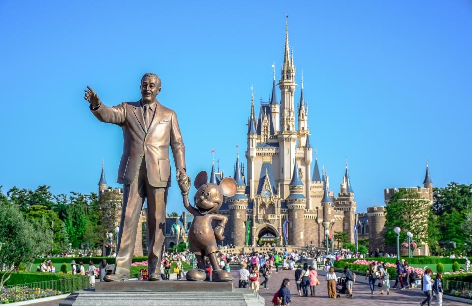 Tokyo Disney Resort en Tokio, Japón.