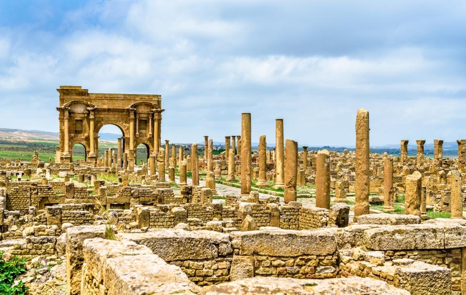 La cité de Timgad