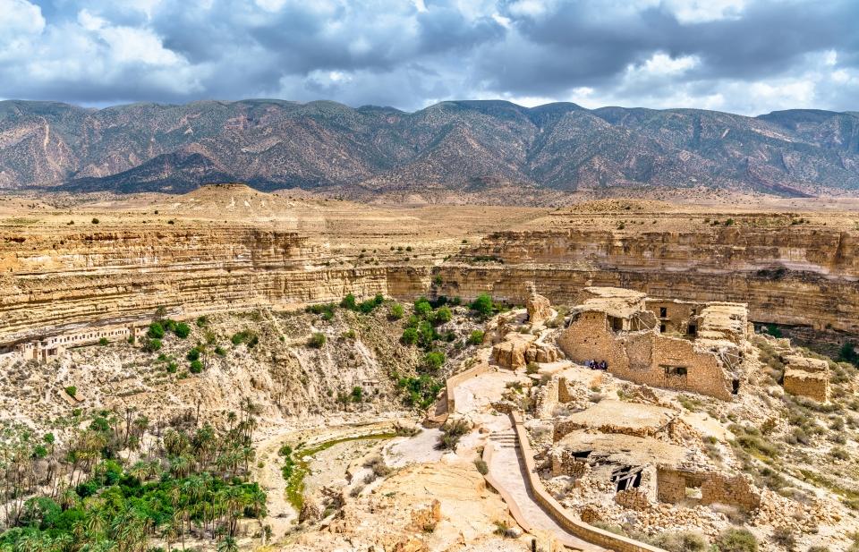 Le canyon de Ghoufi